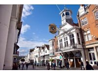 Local Estate Agent are looking for more Sales or Lettings negotiators for the Guildford Branch