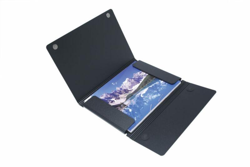 "Itoya ProFolio Magnet Closure Portfolio Case, 18x24"" Poster Size,"
