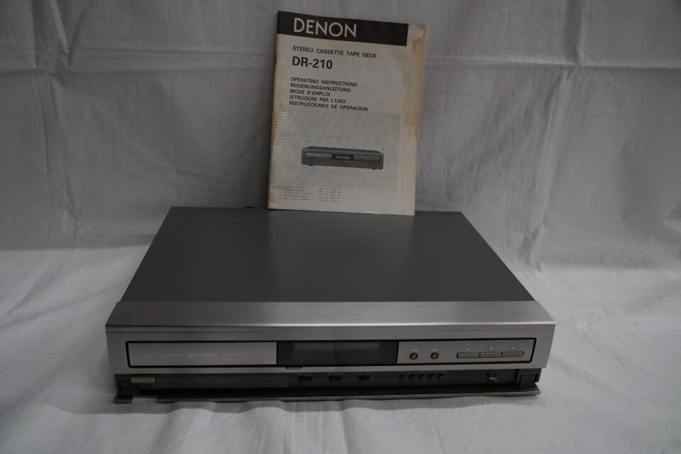 DENON DR-210 Stereo Cassette Tape Deck in Hof
