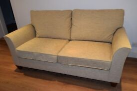 MARKS AND SPENCERS Sofa in Oatmeal Chenille UNUSED