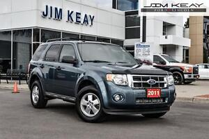 2011 Ford Escape XLT FWD W/V6, HEATED LEATHER SEATS & BLUETOOTH