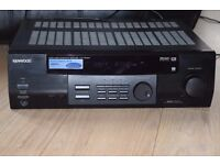 KENWOOD KR-V5050D AUDIO 5.1 CHANNEL AMP 250W CAN BE SEEN WORKING
