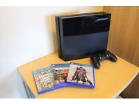 PS4 500 GB Bundle (Three Games)