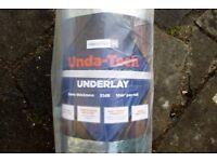 Underlay for wood flooring