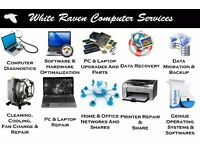 Computer Services, PC\Laptop Repair, Data Recovery, Virus Removal, Update\Upgrade, Data Transfer