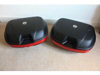 Pair of Givi Monokey E360 40litre panniers