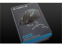 Logitech Proteus Core G502 Gaming Mouse