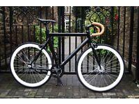 GOKU CYCLES!!! Aluminium Alloy Frame Single speed road track bike fixed gear racing fixie bicycle hv
