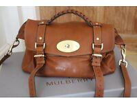 MULBERRY ALEXA Polished Buffalo Oversized handbag