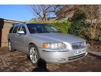 Volvo V70 7 seater auto estate in beautiful condition packed with extras and a new MOT £2495ono