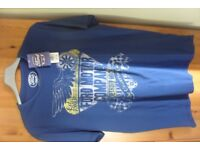 MENS/BOYS BLUE T SHIRT SIZE M NEW WITH TAGS