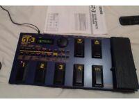 Boss GT 3 Guitar Effects