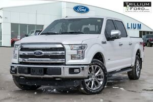 2015 Ford F-150 Lariat Supercrew FX4 3.5 L Ecoboost Navigation,