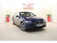 BMW 5 Series 2.0 520d SE 4dr (blue) 2012