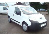 11reg Peugeot Bipper NO VAT TO PAY Full MOT, Full Service History,Very Economical Van SALE £3250