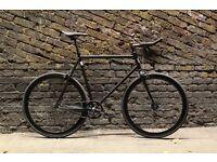 Christmas SALE ! GOKU Steel Frame Single speed road bike TRACK bike fixed gear V75