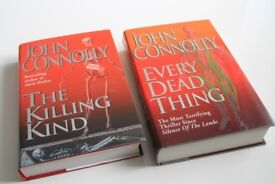 """Set of 2 John Connolly hardback books - """"UNREAD"""" excellent conditions as NEW"""