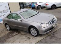 LATE 2006 MERCEDES-BENZ CLK 220 CDI ELEGANCE AUTO 148 BHP COUPE (FINANCE & WARRANTY)