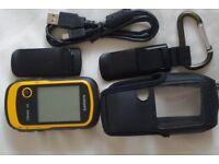 Etrex 10 hand held GPS..perfect condition. (with accessories worth £30) A complete bundle!