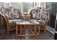 Conservatory Furniture Set for sale in excellent condition.