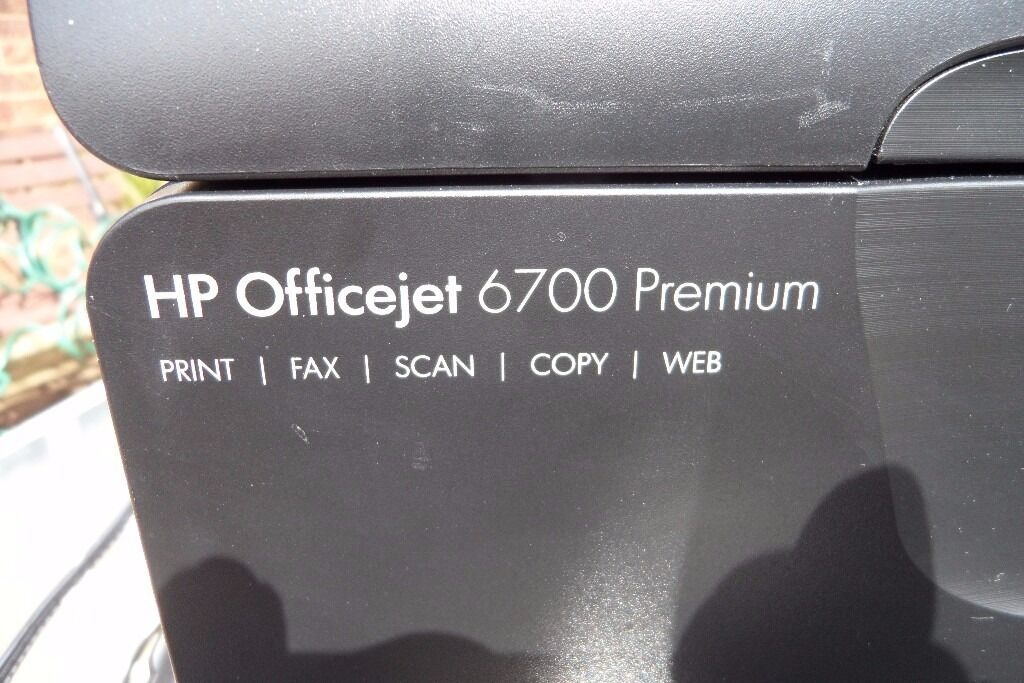 HP OFFICEJET 6700 PREMIUM PRINTERSCANNERFAX WITH NEW INK
