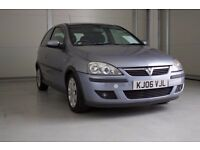 2006 Vauxhall Corsa 1.2i 16v SXI LOW MILEAGE