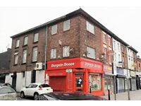 2a Windsor Road FL2, Tuebrook. Single bedroom self cont flat with double glazing. LHA welcome