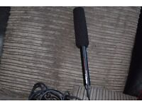 HEMA ZOOM UNIVERSAL MICROPHONE/300 INCH CABLE CAN BE SEE WORKING