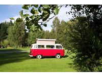 Garage or barn space to rent for storage of classic VW campervan in Stirling.