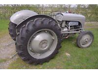 "Massey Ferguson ""Grey Fergie"" 1947 tractor"