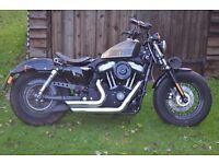 Harley Davidson XL 1200 Sportster 48 - Hard Candy Tank