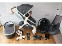 iCandy Peach DC Classic pram pushchair travel system 3 in 1 CAN POST