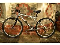 Silver 'GT Bicycles Inc' Mountain Bike