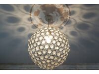 2 x CEILING LIGHT SHADES FROM NEXT