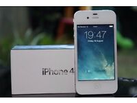 iPhone 4 8Gb White on Vodafone/Lebara/TalkTalk