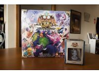 Arcadia Quest - Fire, Frost and Chaos dragons + Hoshi, Nina and Hilda, BNIB(sealed)