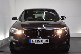 BMW 3 SERIES GRAN TURISMO 2.0 320D M SPORT GRAN TURISMO 5d AUTO [SAT NAV] 18 (black) 2015