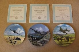 Royal Doulton 'Heroes of the Sky' WW2 Aircraft Plate Collection