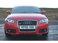 Audi A3 2.0 TDI (170bhp) S-line quattro 56 plate