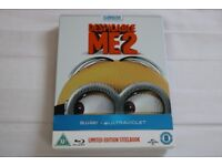 Despicable Me 2 Blu Ray Steelbook