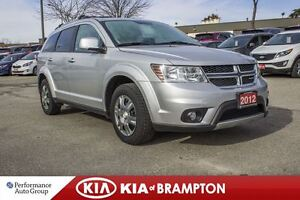 2012 Dodge Journey SXT SEVEN PASS V6 FREE WINTERS/RIMS BLUETOOTH