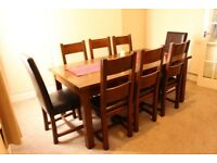 DINNING SET/ EXTENDABLE DINING TABLE