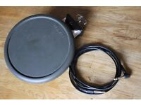 Roland PD-6 Electric Trigger Drum Pad with cable pd6