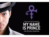 My Name Is Prince Exhibition - 2X Tickets half price - Tomorrow (Sold Out)