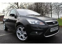 Ford Focus 2.0 TDCi Titanium 5dr Fully serviced /Black Leather