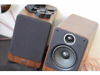 Q Acoustics 2020i and Denon AV Surround Reciever
