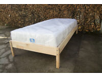 Ikea Hallestad Mattress with free Ikea bed frame