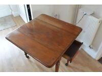 Victorian mahogany Pembroke table