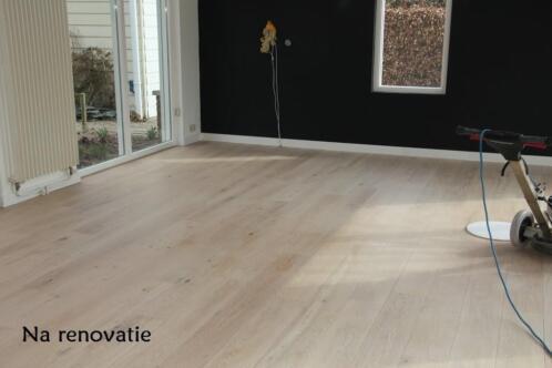 ≥ parket en houten vloer kleuren whitewash parketrenovatie