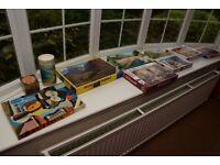 10 Jigsaw Puzzles, Ravensburger, Schmidt, etc